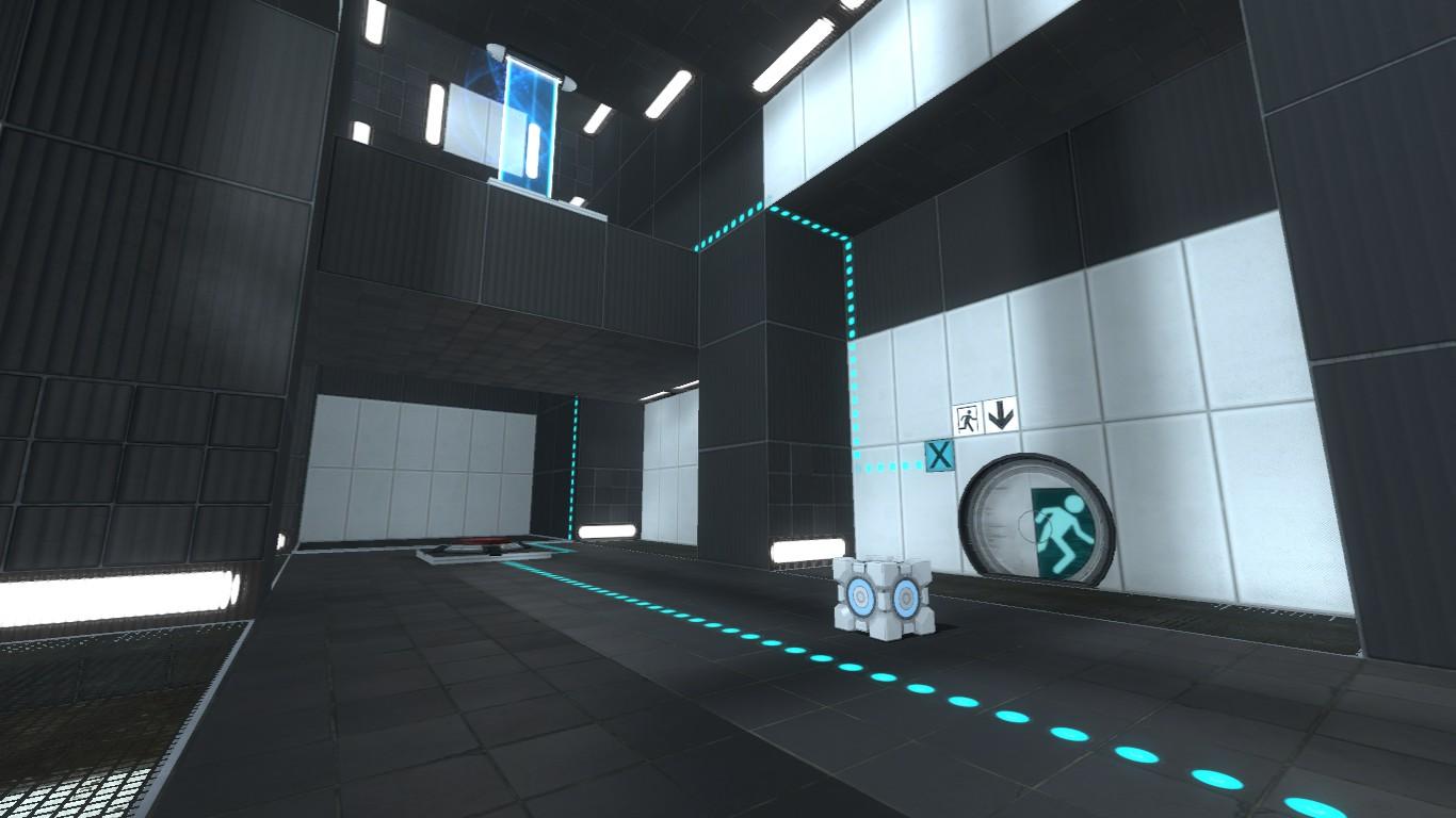 Portal2 High Floor 1